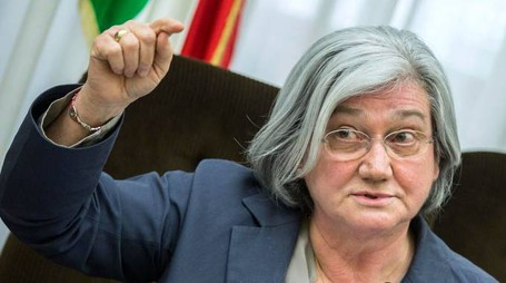 Rosy Bindi guida la Commissione antimafia (Lapresse)