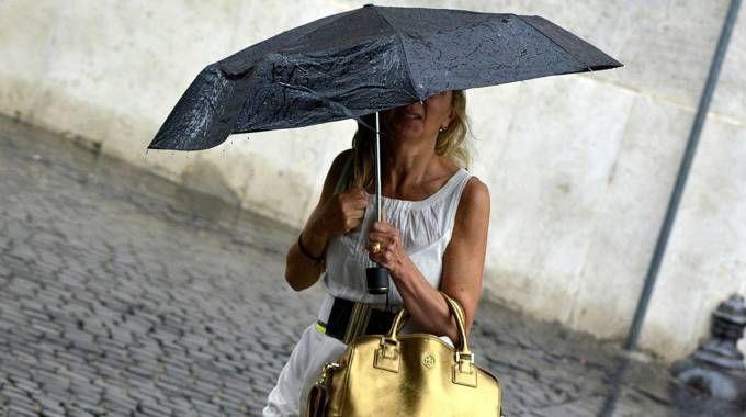 Maltempo, temporali in arrivo in Emilia-Romagna (Lapresse)