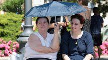 Gli anziani sono i primi a risentire dell'ondata di caldo