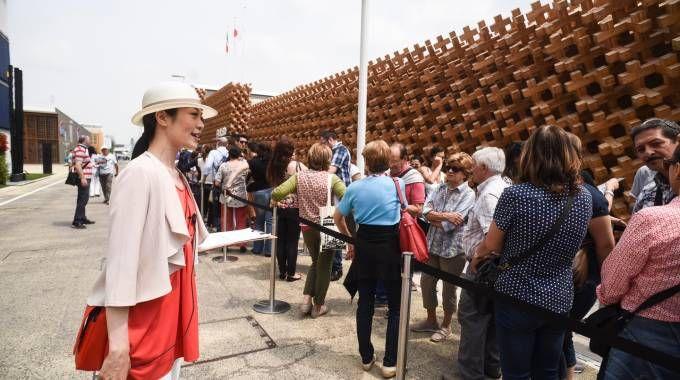 Visitatori a Expo 2015