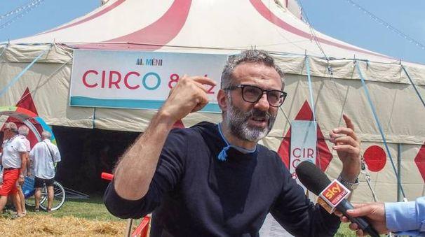 Massimo Bottura alla prima edizione di «Al meni»