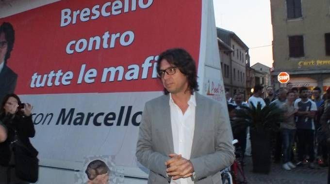 Il sindaco di Brescello Marcello Coffrini