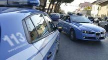Polizia in servizio