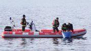 Sommozzatori dei vigili del fuoco (Foto di repertorio Newpress)