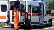Sul posto è intervenuta l'ambulanza