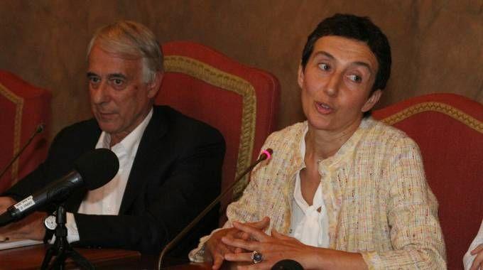 L'incontro con la stampa per presentare il nuovo vicesindaco, Francesca Balzani (Foto Omnimilano)