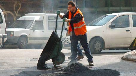 Lavori sulle strade