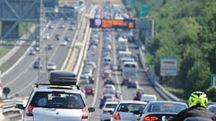 Traffico in Autostrada (Ansa)