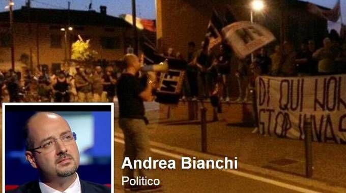 Il sindaco di Trenzano, Andrea Bianchi
