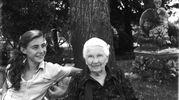 Edda Negri Mussolini, nipote del Duce con la nonna Rachele a Villa Carpena