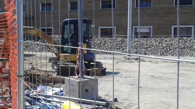 Furto nel cantiere della tramvia, rubati 10mila euro di macchinari