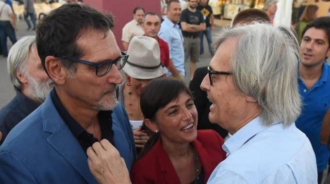 Merola, Serracchiani e Sgarbi alla Festa dell'Unità di Bologna