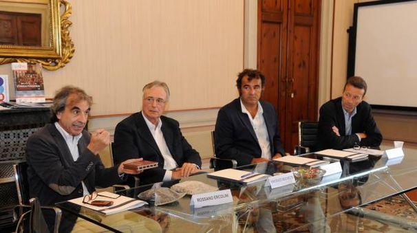La presentazione del progetto a Palazzo Bernardini (foto Alcide)