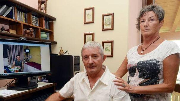 Emiliana  e Roberto Corbetta, genitori di Samuele