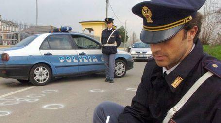 Polizia a Monza