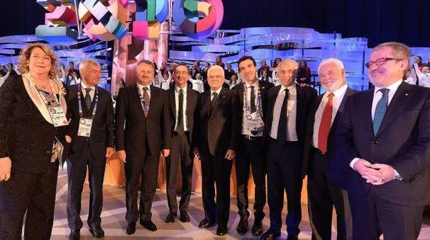 Le autorità per la chiusura di Expo 2015