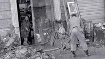 Alcune immagini dell'archivio Aprili che ricordano l'alluvione di Grosseto del 4 novembre 1966