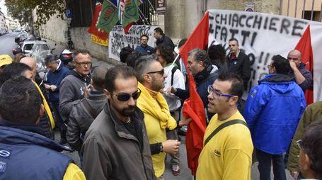 Via Galilei Protesta Dipendenti Elia