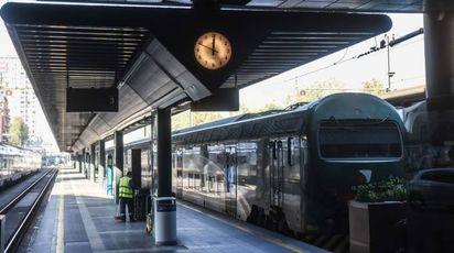 Un treno Trenord (Newpress)