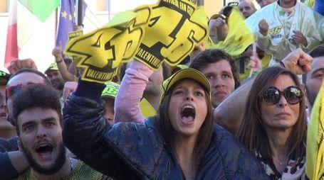 Fan di Valentino Rossi a Tavullia (Foto di Solidea Vitali Rosati)