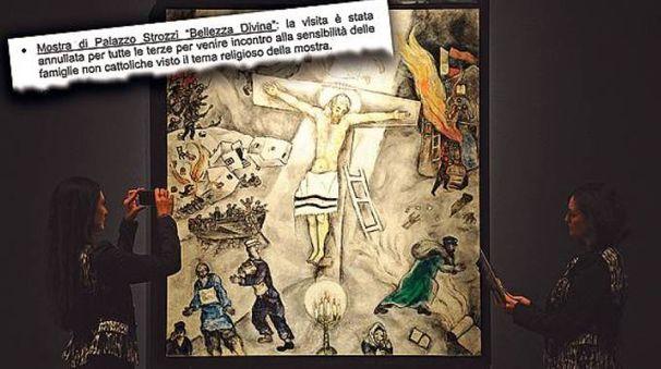 """La mostra """"Divina Bellezza"""" vietata ai bambini"""