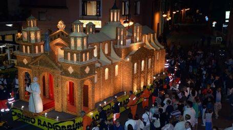 Il Dolcione 2015 riproduzione della cattedrale di Cordoba (Fotocronache Germogli)