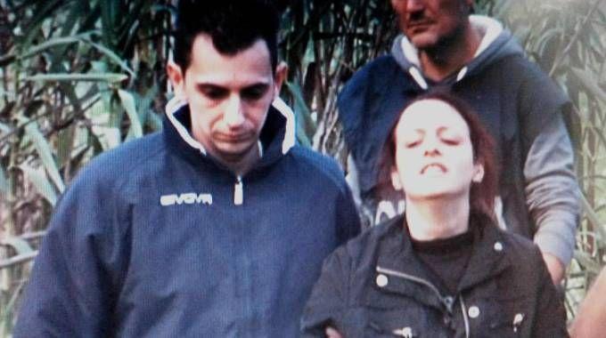 Il padre di Loris, Davide Stival e la madre Veronica Panarello (Ansa)