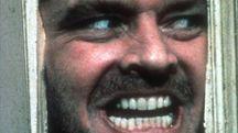 Jack Nicholson nel film 'Shining' (Foto Olycom)
