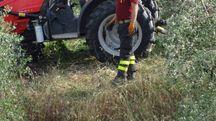 Morte col trattore