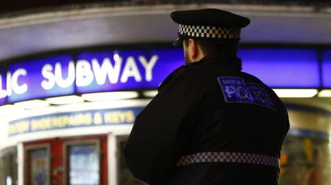 Polizia inglese, foto generica (Olycom)