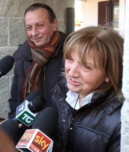 Giuseppe e Rita Poggi, genitori di Chiara / Ansa