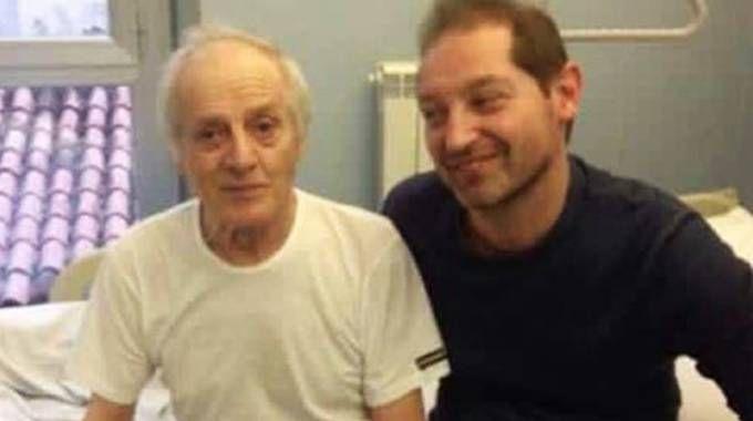 Nello e Adriano Balestra: il padre rimase in coma per diversi giorni. Ora è costretto su una seggiola a rotelle