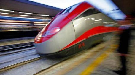 Un treno Frecciarossa (Ansa)