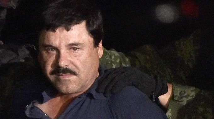 "L'arresto del narcotrafficante  Joaquin ""El Chapo"" Guzman (Afp)"