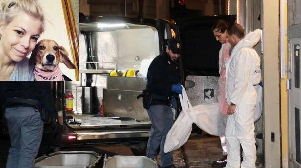Ashley Olsen, la vittima e il luogo del ritrovamento del cadavere (foto NewPressPhoto)