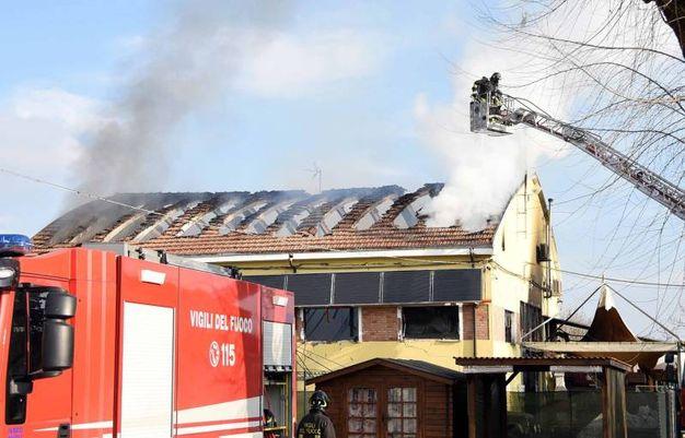Foto BusinesspressL'incendio