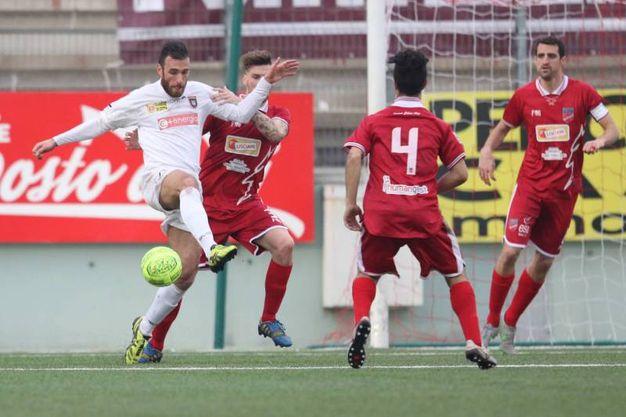 Teramo - Pontedera 0-0 (Foto Olycom)