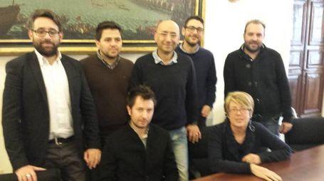 I segretari del Pd e il gruppo consiliare