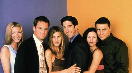 I protagonisti della serie tv Friends (Omega)