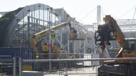 Expo, i lavori nei cantieri dopo la chiusura (Newpress)