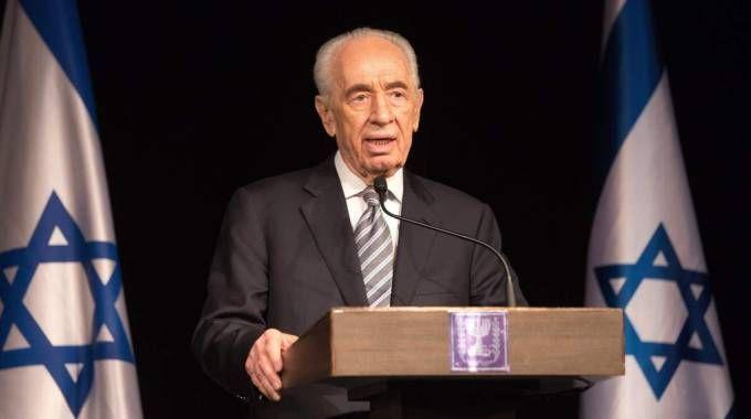 Shimon Peres (AFP)