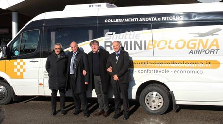 Enrico Postacchini, Roberto Benedettini, Gianni Indino  e Pierluigi Benedettini