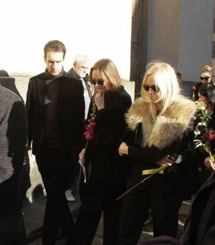 Il funerale di Ashley Olsen (Umberto Visintini/NewPressPhoto)