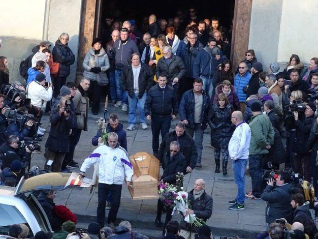Il funerale di Ashley Olsen (Gianluca Moggi/NewPressPhoto)