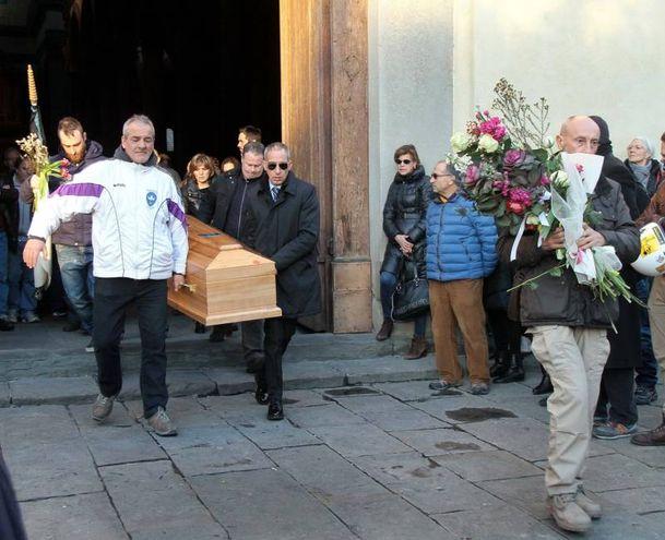 L'ultimo saluto ad Ashley Olsen (Umberto Visintini/NewPressPhoto)