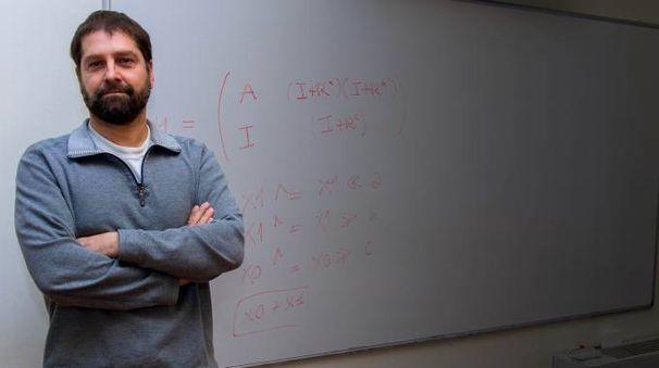 Sebastiano Vigna, 48 anni, docente del dipartimento di Informatica alla Statale