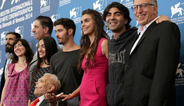 Il cast di 'The cut', film sul genocidio armeno di fatih Akin (Ap)