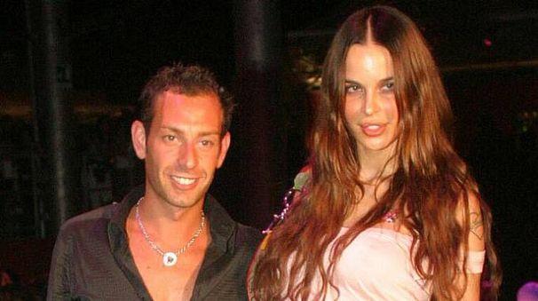 Matteo Cambi in una foto d'archivio con Nina Moric (Fiocchi)