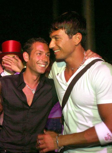 Con Costantino Vitagliano (Foto Fiocchi)