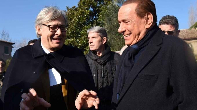 Sgarbi dice di aver parlato con Berlusconi dell'ipotesi di candidarsi sindaco a Bologna, Milano o Trieste